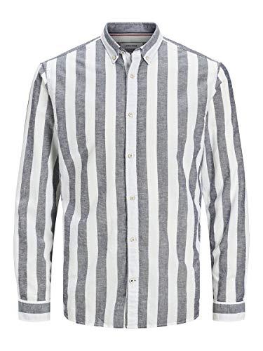JACK & JONES Male Hemd Button-Down MNavy Blazer