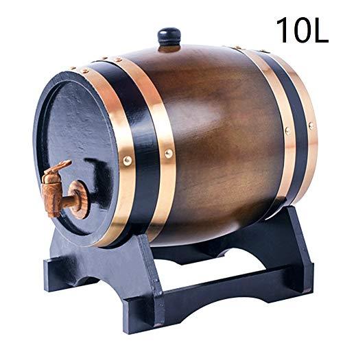 KOUJ vaten eiken hout wijn 10L Robinetto whiskyvat wijnvat houten vat voor opslag rode wijn whiskey tequila bier