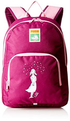 PUMA Kinder Tabaluga S Backpack Rucksack, Dark Purple-Prism pink-Lilli, OSFA