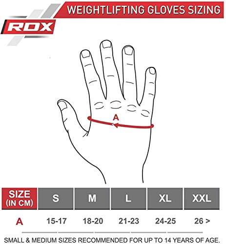 RDX Fitness Handschuhe Trainingshandschuhe - 7