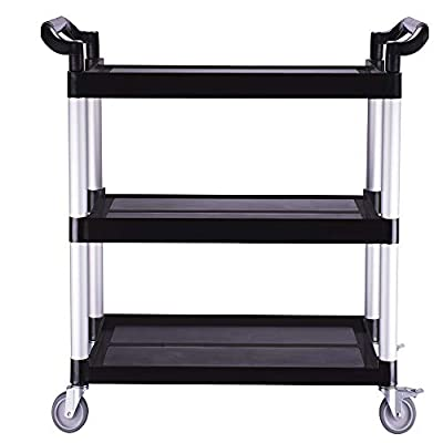 Lovinland Heavy Duty 3-Shelf Rolling Service/Ut...