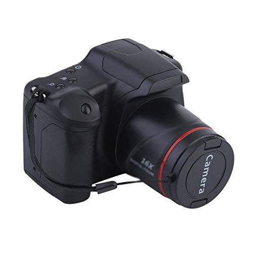Z-XILI Cámara Cámara de vídeo digital de alta definición 1080P vídeo digital portátil de 16 veces el zoom digital de alta definición, cámara fotográfica digital, 4x zoom, pantalla LCD de 2,7 pulgadas