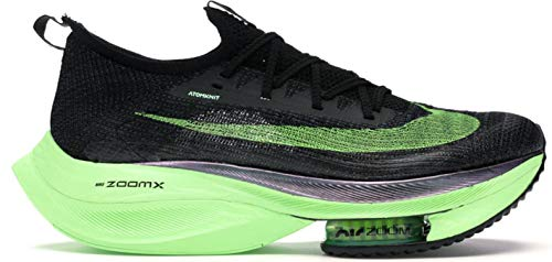 [ナイキ] Air Zoom Alphafly Next% Black Electric Green (measurement_26_point_0_centimeters)