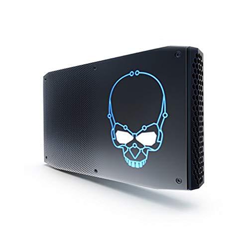 Intel NUC 8I7HVK2 - Kit ordenador Mini PC (Intel Core i7-8809GU, Espacio para hasta 32 GB SODIMM DDR4 RAM, Espacio para disco 2xM.2, Radeon RX Vega M GL Graphics)
