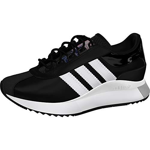 adidas Originals Women's SL Andridge Sneaker, Black/White/Black, 10