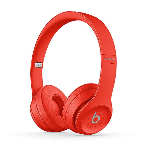 Beats Solo3 Wireless On-Ear Headphones - Apple W1 Headphone Chip, Class 1 Bluetooth, 40 Hours of Listening Time - (Product) RED (Previous Model)
