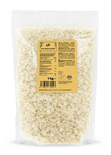 KoRo - Fiocchi di riso bio 1 kg - alternativa senza glutine e delicata ai fiocchi d'avena