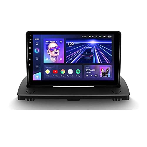 SuRose Radio Coche Pantalla, CC3 Android 10 Car Radio Reproductor Multimedia para Volvo XC90 2004-2014 Navegación GPS DSP autoradio WiFi 4G Control del Volante Carplay con cámara de visión Trasera