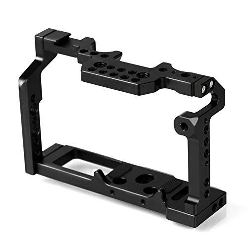 Aleación de Aluminio Jaula de Conejo Cámara de Video Protección Cámara Estabilizador Kit de manija Superior Sistema de filmación para XT2