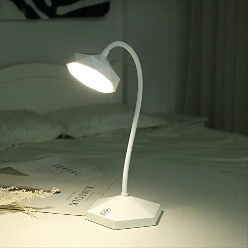 Étudiant Dortoir Créatif Table Lampe Led Bureau Eye-Protection Rechargeable Usb Chambre Chevet Lecture Écriture Lampe Réglable Lumière