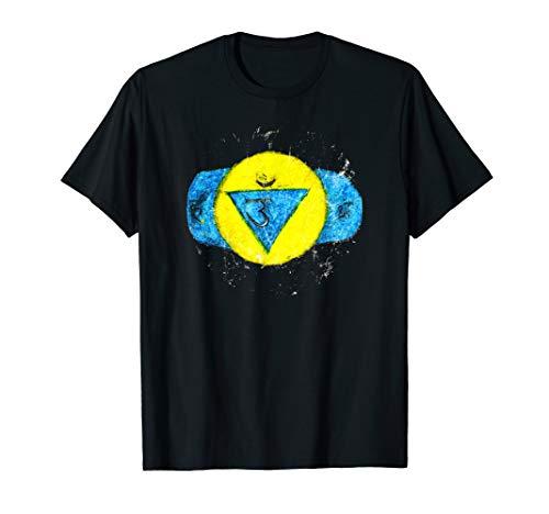 Ajna - Yoga Chakra - Spirituelle Meditation - Goa Psytrance T-Shirt