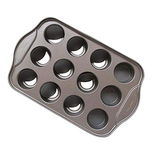 Apfelküchli Backblech Backen Schimmel Backblech Antihaft Für 12 Kleine Kuchen Mit Loch Geeignet Für Jeden Herkömmlichen Backofen