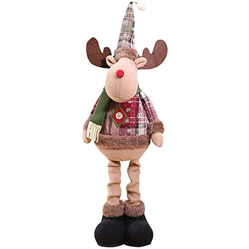 Oaisij Christmas Decorations New Year Christmas Big Doll Decoration Christmas Tree Decorative Window Decoration Gift