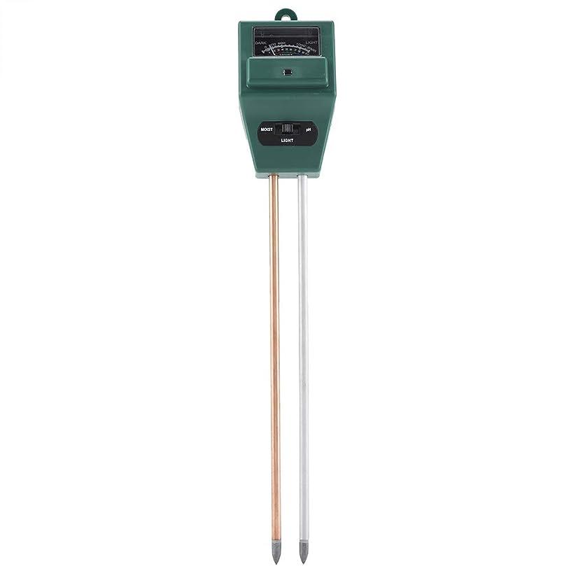 Soil PH Tester - 3 in 1 PH Tester, Soil Water Moisture Light Test Meter, Sunlight Sensor, for Garden Plant Flower