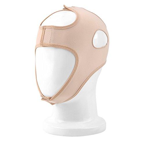 Visage V-Shaper Minceur Visage Bandage, Relaxation Lift Up Forme Ceinture Lift Double Menton Réduire Le Visage Masque Thining Band Massage,M