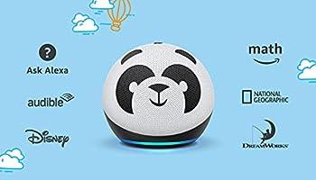 Echo Dot (4th Gen) Kids | Designed for kids, with parental controls | Panda