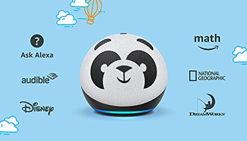 Echo Dot (4th Gen) Kids   Designed for kids, with parental controls   Panda