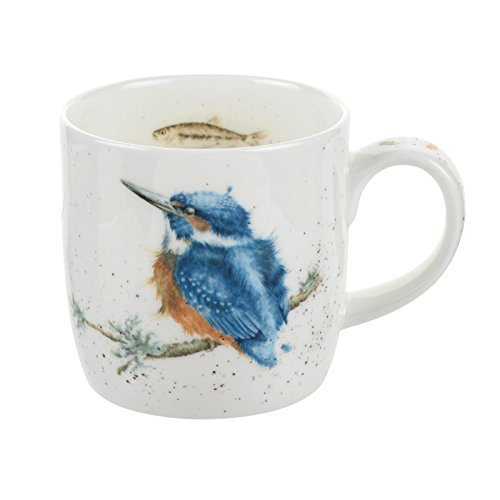 Portmeirion Home & Gifts MMOI5629-XS Tasse King of The River, en porcelaine, multicolore, 8,5 x 12 x 8 cm