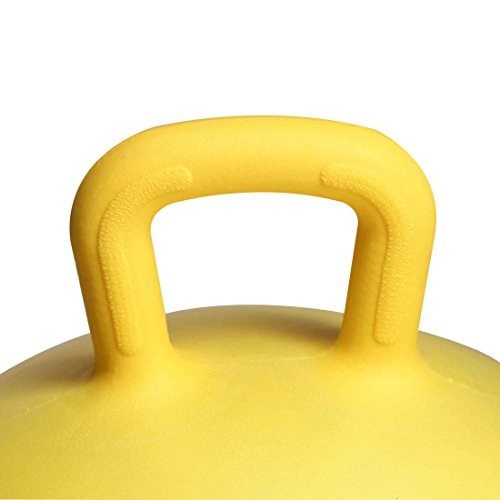 【Amazon限定ブランド】ウルトラスポーツジャンプボールスペースホッパーボール3歳以上の子ども向けハンドル付き直径450mm