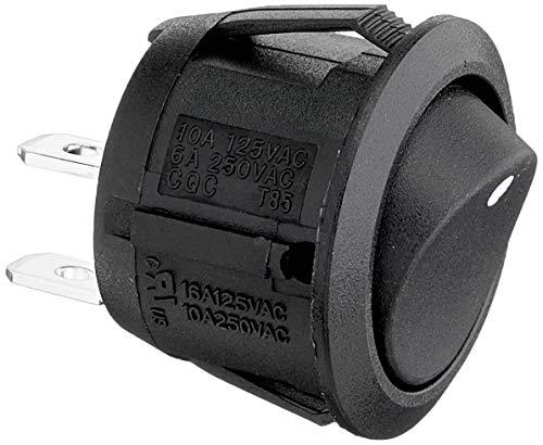 AIV 530244 (Wippschalter rund, Einbaumaß 19 mm)