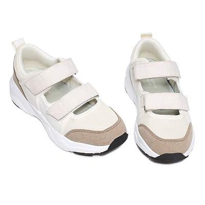 EXEBLUE Women's Casual Walking Shoes Platfo...