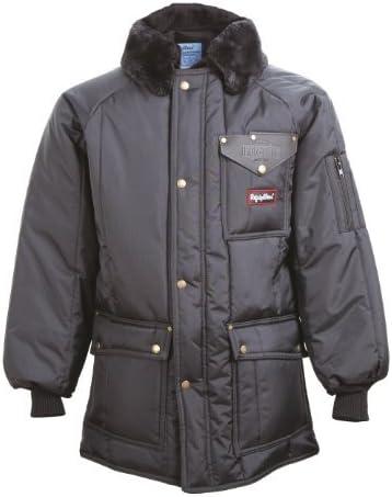 RefrigiWear Water-Resistant Insulated Iron-Tuff Siberian Workwear Jacket with Soft Fleece Collar