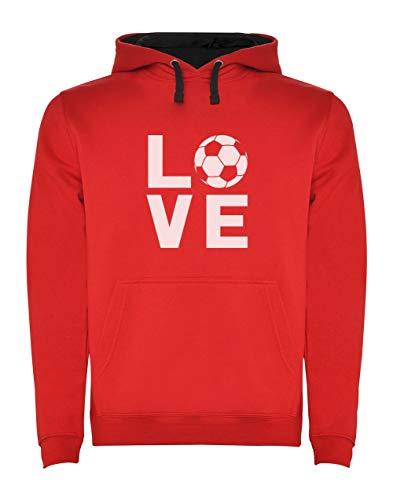 Green Turtle T-Shirts Sudadera con Capucha para Hombre - Regalos para Deportistas, Regalos Futbol - Love Soccer -