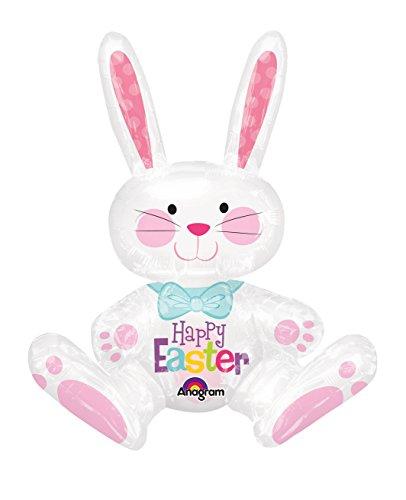 """1 Riesiger fröhlicher Oster-Folien-Luftballon aus der Serie """"Lovely Easter"""""""