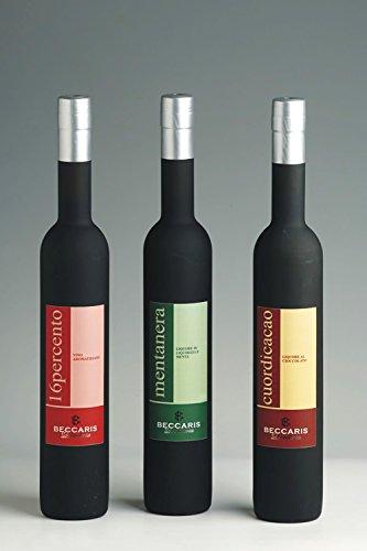 Distillerie Beccaris - Linea Golosa Mentanera Licor de regaliz y menta 0,5 lt.