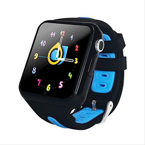 GYFKK Smartwatch Smartwatch, Stand-Alone, Kartenanrufe, GPS-Positionierung, 3,8 cm (1,5 Zoll) Touchscreen, wasserdicht, unterstützt mehrere chinesische Wörter, Multi-Landschaft, Schwarz und Blau