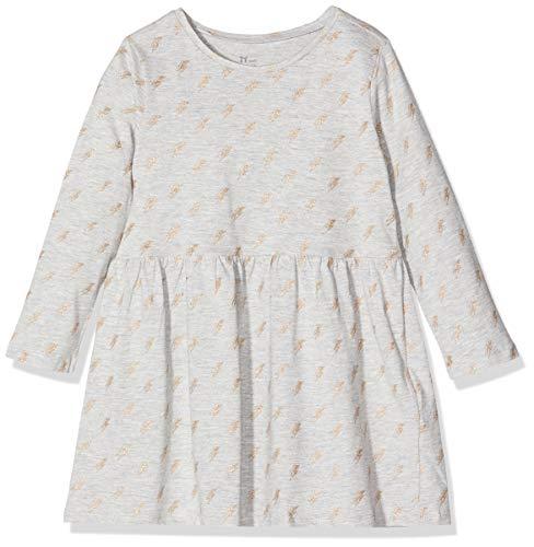 ZIPPY Vestido ZY, Gris (Light Grey Melange 1068), 12 años (Tamaño del Fabricante: 11/12) para Niñas