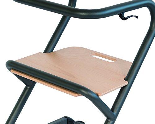 Saljol PAGE Sitz, zubehör für PAGE Wohnraum Rollator, Echtholz