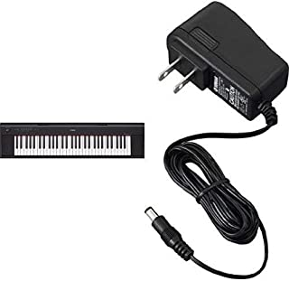 Yamaha NP12 61-Key Lightweight Portable Keyboard, Black with