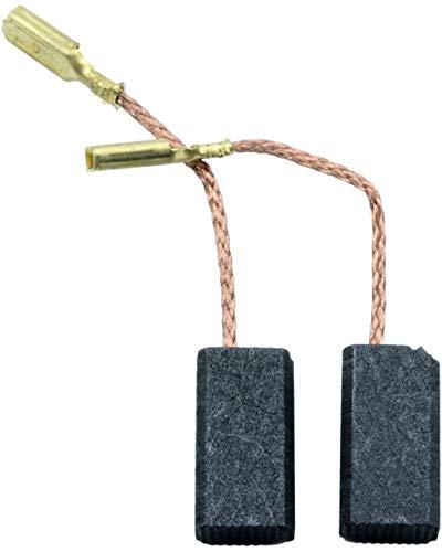 Escobillas de Carbón para AEG OFE500S fresadora - 5x8x15mm - 2.0x3.1x5.9