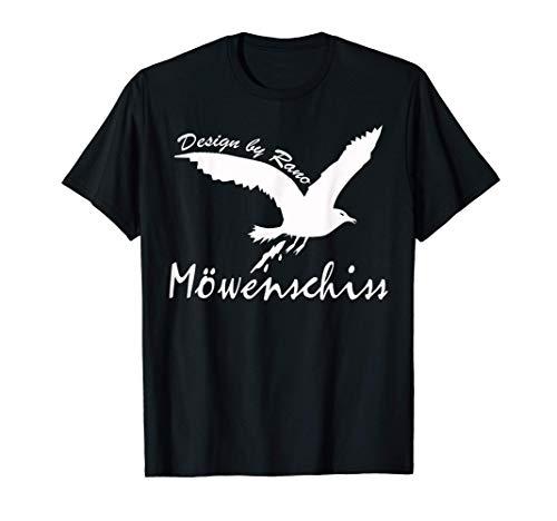 Lustig Möwenschiss Nordsee Strand Küste Möwe Geschenk T-Shirt
