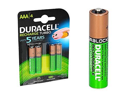 Duracell AAA Recargable 4Ud Turbo