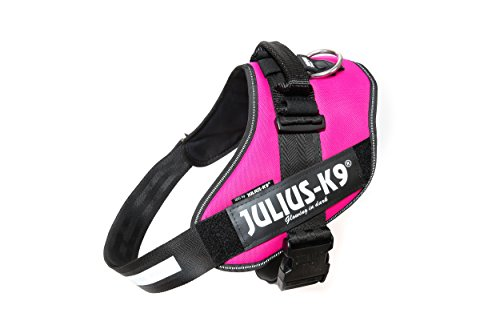 Julius-K9, 16IDC-DPN-3, IDC Powerharness, dog harness, Size: 3, Dark Pink