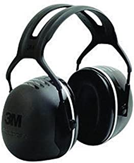 3M X5A Peltor Black Model X5A/37274(AAD) Over-The-Head Hearing Conservation Earmuffs, English, 15.34 fl. oz, Plastic, 1