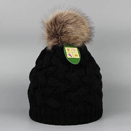 Fnito Sombrero Punto Sombrero de Punto Macizo Sombrero de...