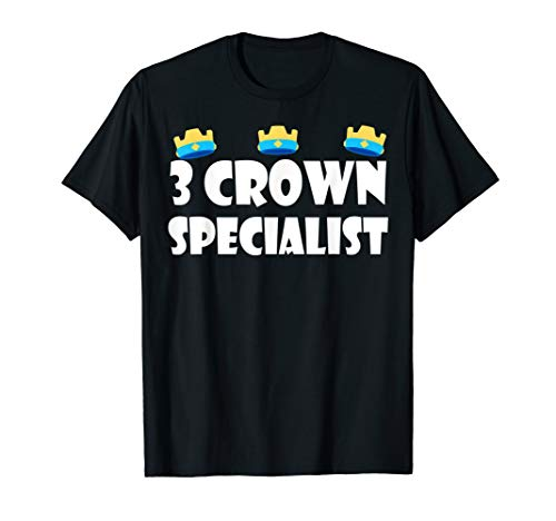 3 Crown Specialist TShirt - Perfect for Mobile Gaming/Gamers