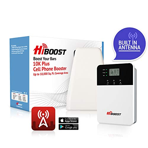 HiBoost 10K Plus Cell Phone Signal Booster Kit for Home or Office | Up...