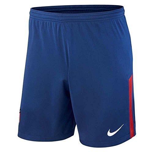Nike 2017-2018 Atletico Madrid Home Football Shorts (Blue)