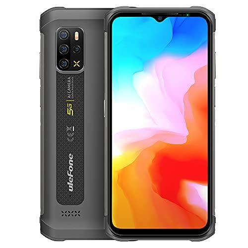 5G Telefono Robusto Ulefone Armor 12, 8GB+128GB, 6,52 Pollici Android 11 Rugged Smartphone, Fotocamera Posteriore Quad 48MP, Altoparlante HiFi,Impermeabile IP68 IP69K,Ricarica Wireless GPS NFC Arancia