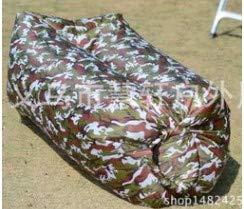 Idefair Tumbona Hinchable Sofá de Aire Hamaca, colchón Inflable Impermeable Cama de Aire Sofá de Aire antifugas con Bolsa de Almacenamiento para Viajar Camping