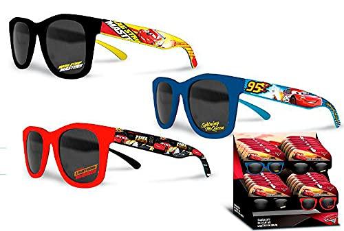 Kid Licensing Unisex, Jugend Display SURTIDO GAFAS DE SOL Cars Sonnenbrille, bunt, Einheitsgröße