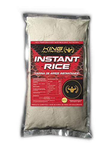 INSTANT RICE 1Kg Cookies and Cream King Nutrition harina de arroz instantanea SIN GLUTEN