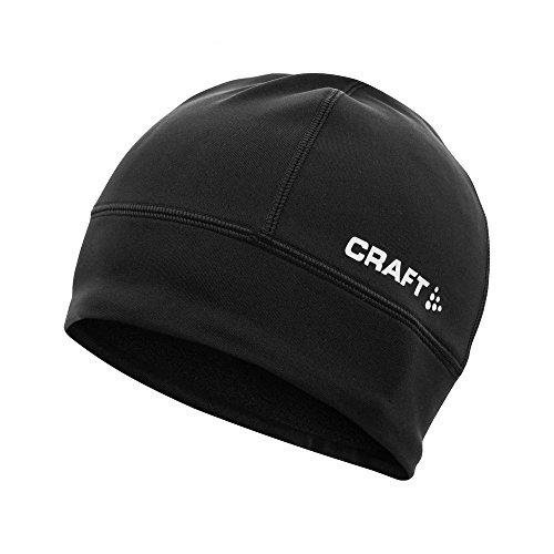 Craft CR1902362 Bonnet de Course à Pied Mixte, 9900 Noir, FR (Taille Fabricant : L-XL)