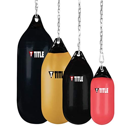 Title Boxing Wave H2O Cylindrical Heavy Bag, Red, 25 lbs
