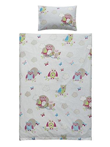 badtex24 2/4 TLG. Kinder Baby Bettbezug Bettwäsche Bettgarnitur Baumwolle 100 x 135 cm Eu-Cr 100cm x 135cm 2 TLG