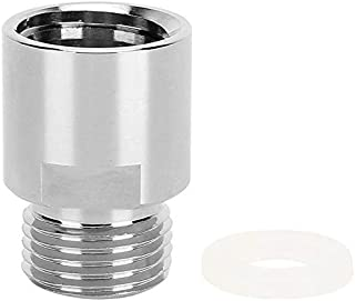 Sonline CO2 Converter, CO2 Cylinder Female Thread TR21-4 to Male Thread CGA320 for Soda Stream/Soda-Club